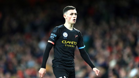 PHIL FODEN: Stellar display by the te恩ager