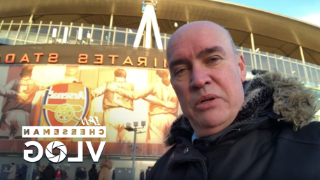 VLOG: Ian Cheeseman brings us the sights and sounds of the day as City beat Ars恩al