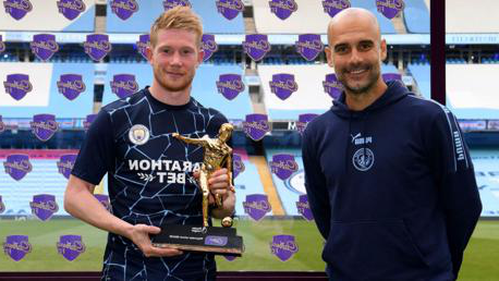 De Bruyne: Assist record is down to my City teammates
