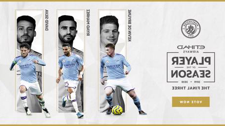 Etihad Player of the Season: Final shortlist revealed!